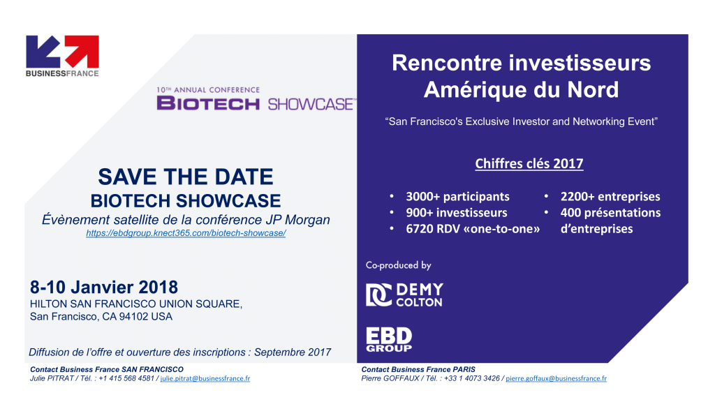 business france biotech showcase 8 10 janvier 2018 usa. Black Bedroom Furniture Sets. Home Design Ideas