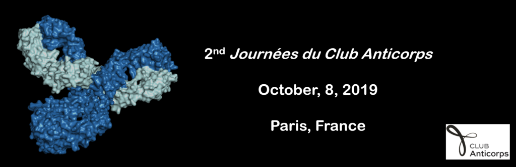 2eme Journées du Club Anticorps, le 8 octobre 2019 à Paris