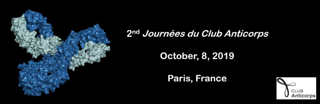 2eme Journées du Club Anticorps, le 8 octobre 2019 à Paris